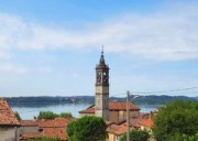 GALBIATE -Vista Lago NEL VERDE APPARTAMENTO IN VILLA CON GIARDINO E BOX